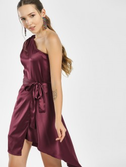 Street9 One Shoulder Asymmetric Dress
