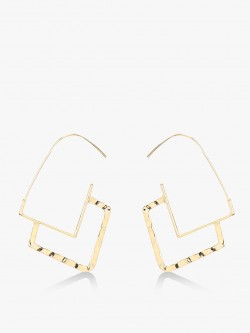 Style Fiesta Geometric Statement Earrings
