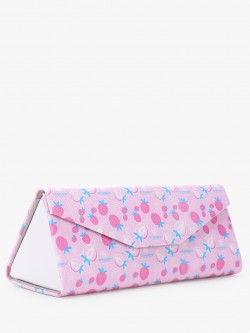 Style Fiesta Strawberry Print Sunglass Case Pouch