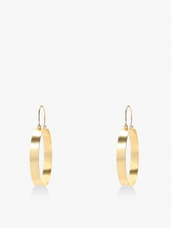 Style Fiesta Broad Hoop Earrings