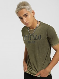 Buffalo Logo Placement Print T-Shirt