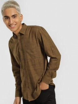 Buffalo Textured Long Sleeve Shirt