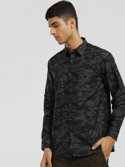 Buffalo Camo Print Casual Shirt