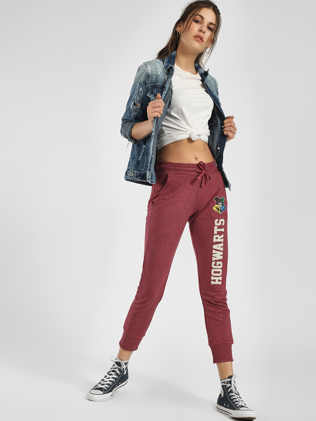 Free Authority Red Harry Potter Hogwarts Print Joggers 1