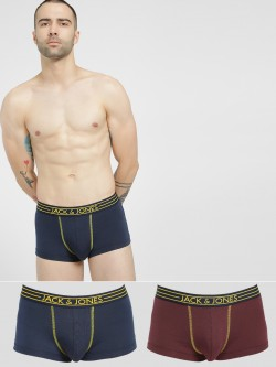 Jack & Jones Brazilian Trunks (Pack Of 2)