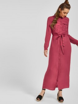 LC Waikiki Utility Belted Shirt Dress