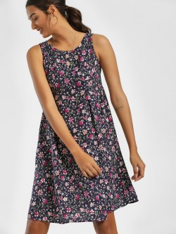 LC Waikiki Floral Print Shift Dress
