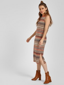 LC Waikiki Lace Sleeveless Midi Dress