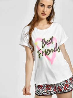 LC Waikiki Best Friends Print T-Shirt