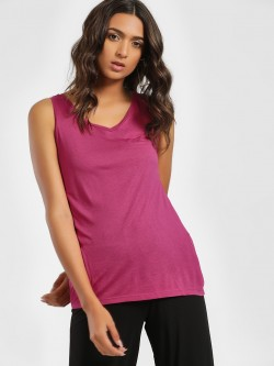 LC Waikiki Basic V-Neck Sleeveless T-Shirt