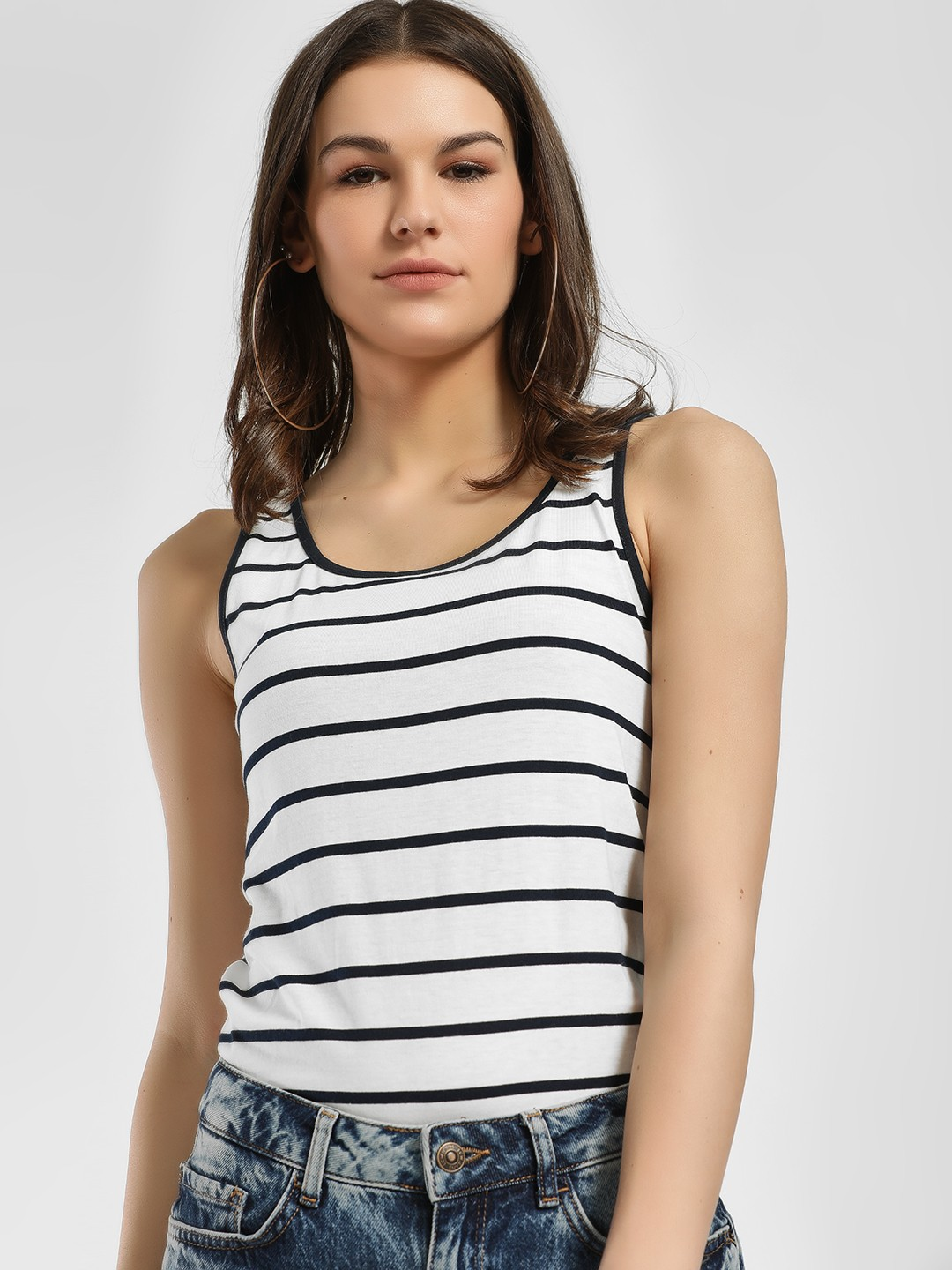LC Waikiki Multi Horizontal Stripe Tank Top 1