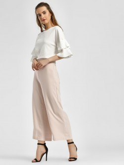LC Waikiki Basic Wide Leg Trousers