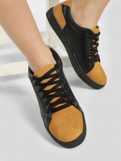My Foot Couture Suede Colour Block Sneakers