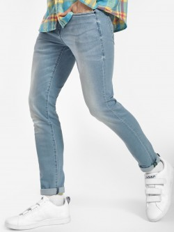 Flying Machine Light Wash Skinny Jeans