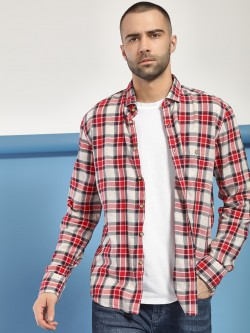 Flying Machine Multi Check Casual Shirt