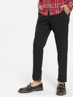 Flying Machine Zippered Hem Slim Trousers
