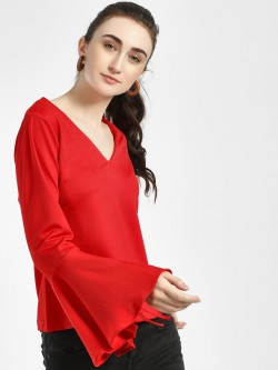 ISU Basic V-Neck Blouse