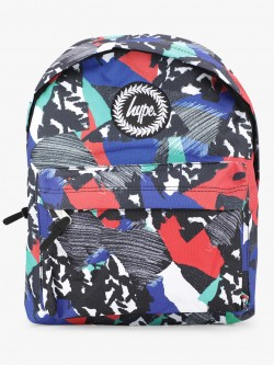 Hype Abstract Print Backpack