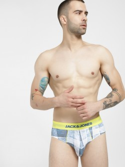 Jack & Jones Simon Check Denim Briefs
