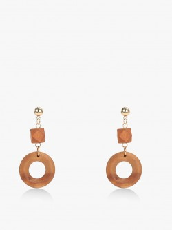 VOODOO VIXEN Wooden Drop Statement Earrings