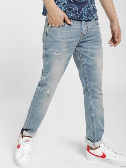 Lee Cooper Lightly Distressed & Wash Skinny Jeans