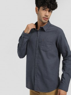 Lee Cooper Dot Print Casual Shirt
