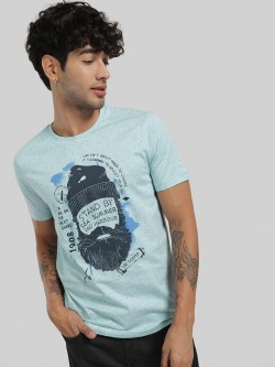 Lee Cooper Slogan Placement Print T-Shirt