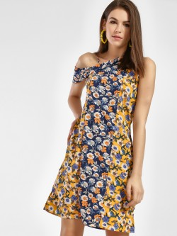 Oliv Floral Print Shift Dress