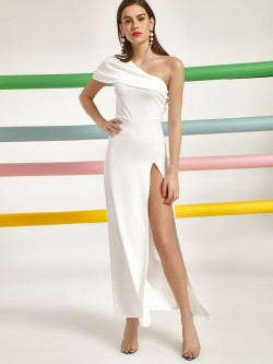 Lasula Side Slit Maxi Dress
