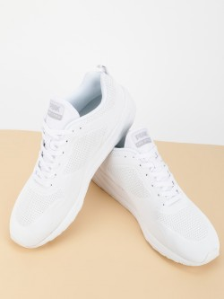 Peak Embossed Detail Casual Trainers