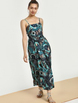 Magzayra Abstract Print Maxi Dress