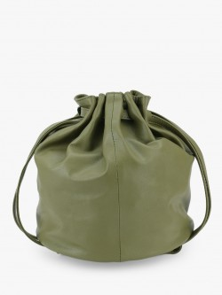 Paris Belle Pleated Bucket Sling Bag
