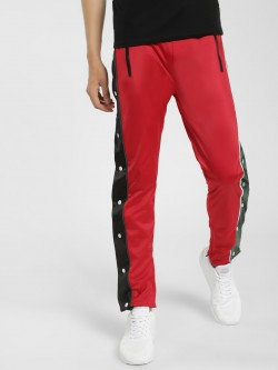 Soulstar Side Tape Popper Joggers