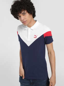 Puma Colour Block Polo Shirt