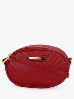 Ceriz Quilted Bum Sling Bag