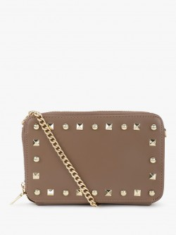 People Studded Chain Sling Bag