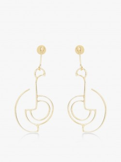 Zero Kaata Geometric Earrings