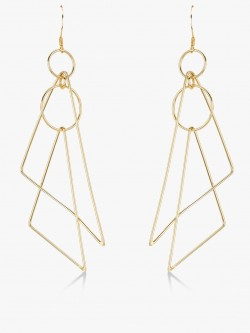 Zero Kaata Inverted Triangle Earrings