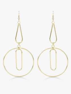 Zero Kaata Geometric Layered Hoop Earrings