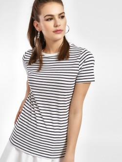New Look Horizontal Stripe T-Shirt