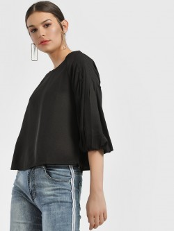 People Volume Sleeve Blouse