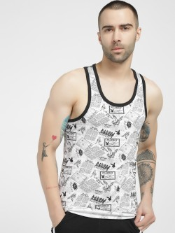 Playboy All Over Printed Vest