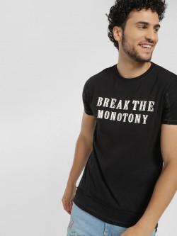Disrupt Break The Monotony Placement Print T-Shirt