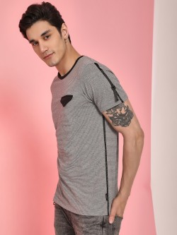 Disrupt Pinstripe Side Tape Pocket T-Shirt