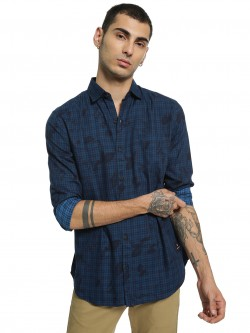 Disrupt Micro Check Printed Shirt