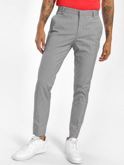 KOOVS Pinstripe Formal Trousers