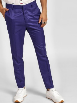 KOOVS Slim Fit Formal Trousers