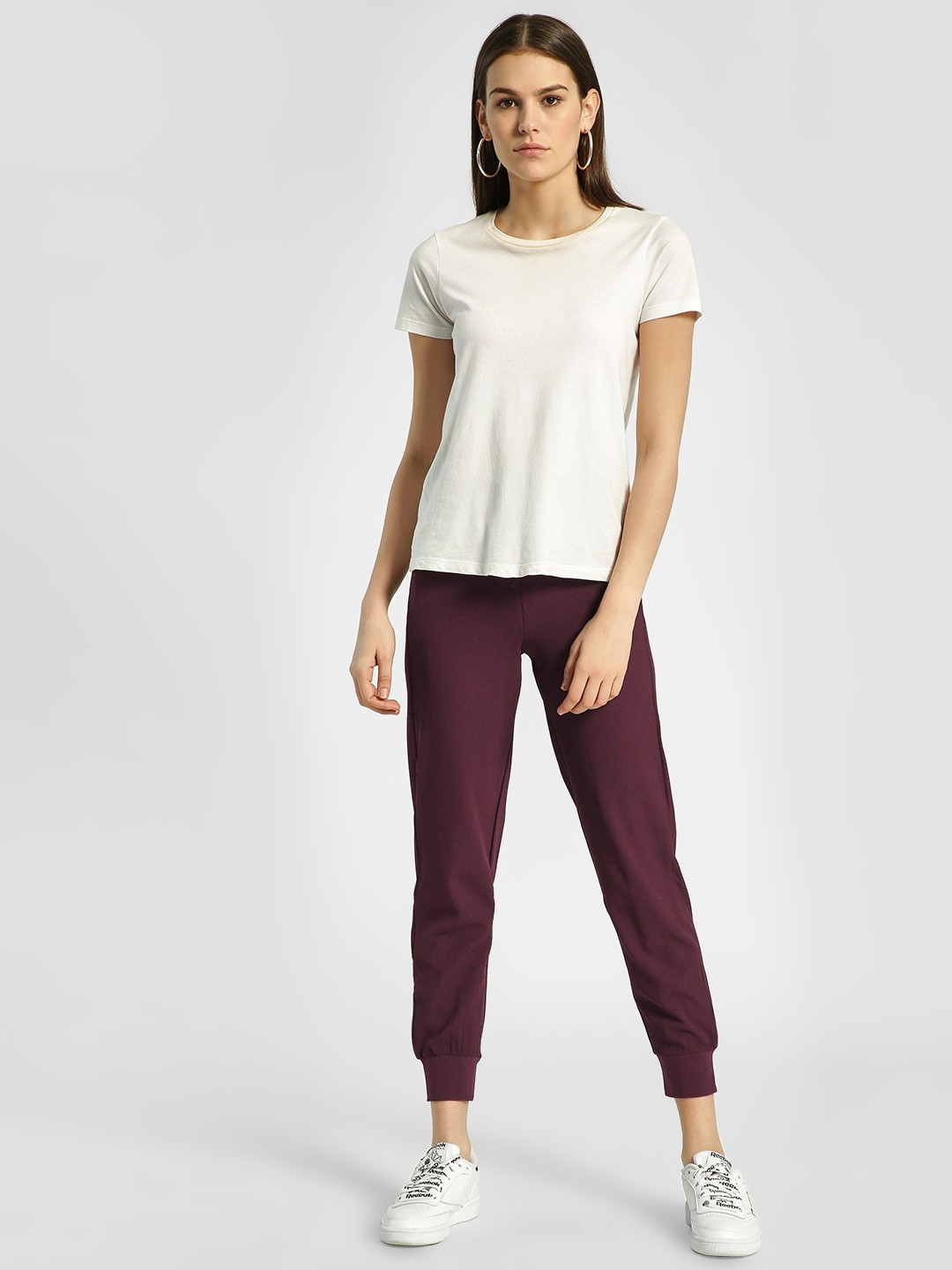 HEY Wine Woven Drawcord Joggers 1