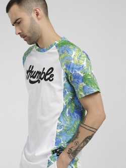 Kultprit Humble Tropical Print T-Shirt