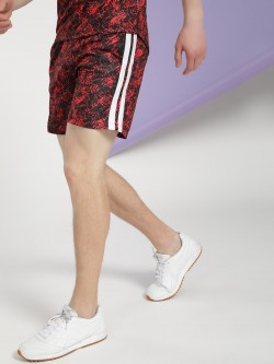 K ACTIVE KOOVS Contrast Side Stripe Running Shorts